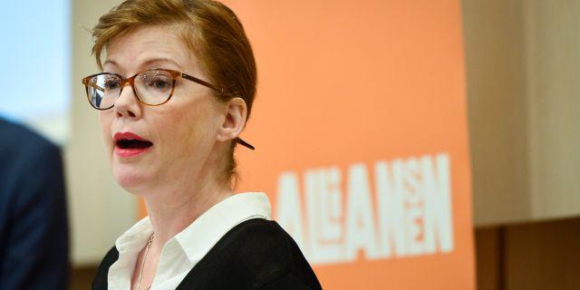 Anna Starbrink.  Stina Stjernkvist/TT / TT NYHETSBYRÅN