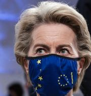 EU-kommissionens ordförande Ursula von der Leyen. Tiago Petinga / TT NYHETSBYRÅN