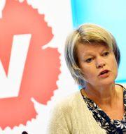 """Ulla Andersson (V): """"Det är en feministisk reform"""" Jonas Ekströmer/TT / TT NYHETSBYRÅN"""