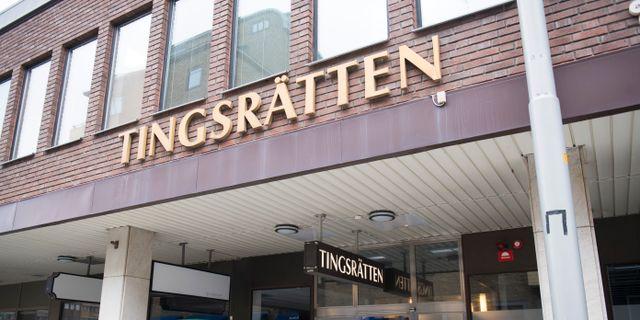 Tingsrätten i Eskilstuna.  Fredrik Sandberg/TT / TT NYHETSBYRÅN