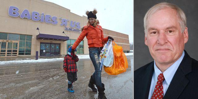 Amerikansk familj som shoppar. Fed-toppen Eric Rosengren. Arkivbilder. TT/Federal Reserve