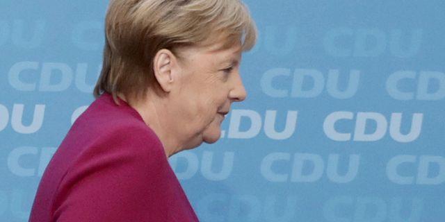 Angela Merkel Kay Nietfeld / TT NYHETSBYRÅN