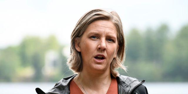 Karolina Skog (MP). Johan Nilsson/TT / TT NYHETSBYRÅN