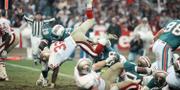 Bild från en amerikansk fotbollsmatch 1988. AP/TT