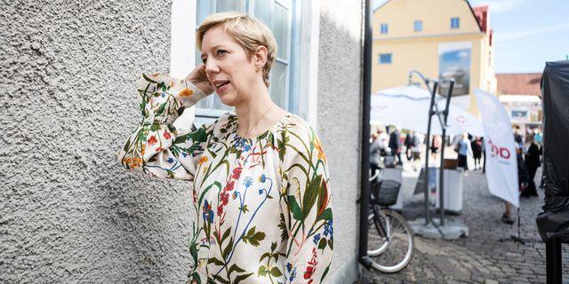 Anna Breman är ny vice riksbankschef. TT.