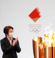 Seiko Hashimoto, chef för OS i Tokyo. Kim Kyung-Hoon / TT NYHETSBYRÅN