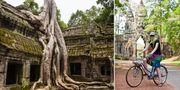 Snart kan du cykla runt Angkor Wat. Daniel Lienert/Beyond Neon
