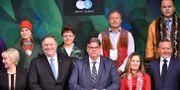 De deltagande ministrarna i Arktiska rådet.  POOL / TT NYHETSBYRÅN