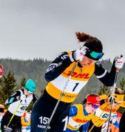 Britta Johansson Norgren med nummer 1. Ulf Palm/TT / TT NYHETSBYRÅN