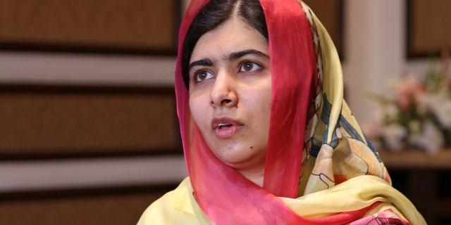 Malala Yousafzai SAIYNA BASHIR / TT NYHETSBYRÅN