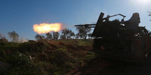 Turkietstödda rebeller i Idlibregionen Ghaith Alsayed / TT NYHETSBYRÅN