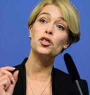 Socialminister Annika Strandhäll (S) Maja Suslin/TT / TT NYHETSBYRÅN