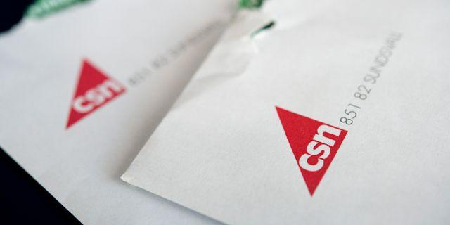 Kuvert från CSN, Centrala studiestödsnämnden. Arkivbild. Jessica Gow/TT / TT NYHETSBYRÅN