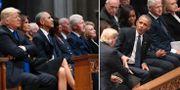 Begravningen för George H W Bush.  TT