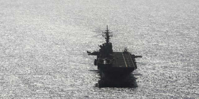 Fartyget USS Boxer. Ahmed Jadallah / TT NYHETSBYRÅN
