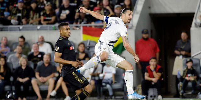Zlatan Ibrahimovic.  Marcio Jose Sanchez / TT NYHETSBYRÅN