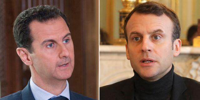 Assad/Macron. TT