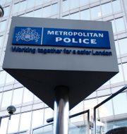 Den brittiska polisens högkvarter i London.  Alastair Grant / TT NYHETSBYRÅN