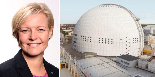 Pressbilder: Stockholm Lives vd Marie Lindqvist, Globen. Stockholm Live