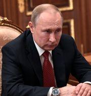 Vladimir Putin. Alexei Nikolsky / TT NYHETSBYRÅN