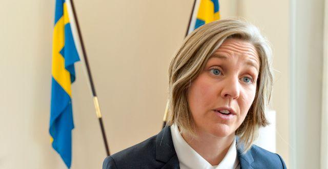 Karolina Skog (MP). Jonas Ekströmer/TT / TT NYHETSBYRÅN