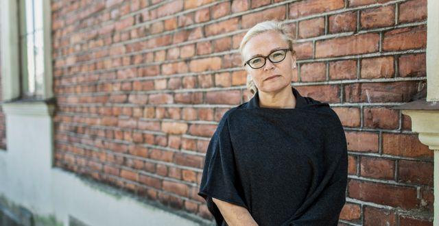 Britta Lejon, ordförande för fackföreningen ST. Daniella backlund/SvD/TT / TT NYHETSBYRÅN