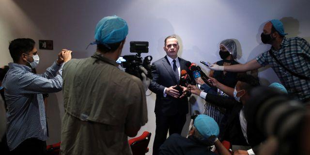 Chefsåklagare Tarek William Saab på fredagen. MANAURE QUINTERO / TT NYHETSBYRÅN