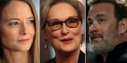 Jodie Foster, Meryl Streep, Tom Hanks. TT