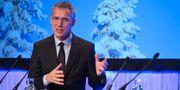 Natos generalsekreterare Jens Stoltenberg på Folk och försvar. TT NEWS AGENCY / TT NYHETSBYRÅN