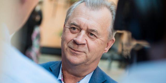 Avgående landsbygdsminister Sven-Erik Bucht.  Vilhelm Stokstad/TT / TT NYHETSBYRÅN