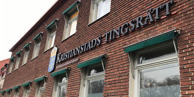 Kristianstads tingsrätt. Cecilia Klinto/TT / TT NYHETSBYRÅN