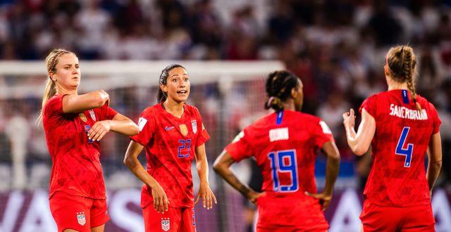 USA klassas som favoriter när matchen mot Nederländerna spelas under söndagen. SIMON HASTEGÅRD / BILDBYRÅN