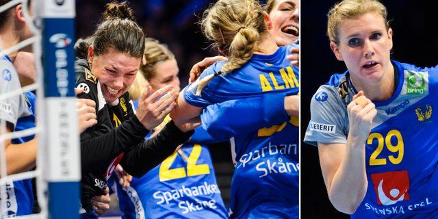 Svenskt jubel/Jenny Alm. Bildbyrån