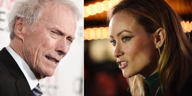 Clint Eastwood och Olivia Wilde. TT