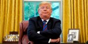 Donald Trump.  KEVIN LAMARQUE / TT NYHETSBYRÅN