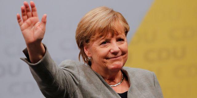Angela Merkel.  WOLFGANG RATTAY / TT NYHETSBYRÅN