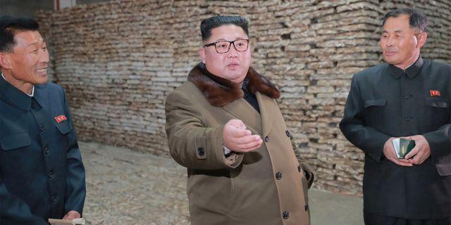 Kom Jong-Un. KCNA VIA KNS / KCNA VIA KNS