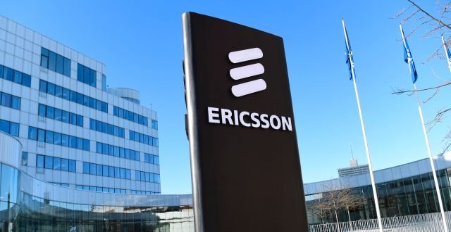 Ericsson. Fredrik Sandberg/TT / TT NYHETSBYRÅN