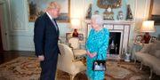 Arkivbild. Boris Johnson träffar landets drottning. Victoria Jones / TT NYHETSBYRÅN/ NTB Scanpix