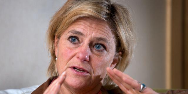 Eva Hamilton, ordförande för Film- och tv-producenterna. Arkivbild. ANDERS WIKLUND / TT / TT NYHETSBYRÅN