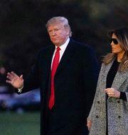 Donald och Melania Trump MANDEL NGAN / AFP