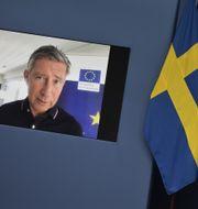 Richard Bergström. Pontus Lundahl/TT / TT NYHETSBYRÅN