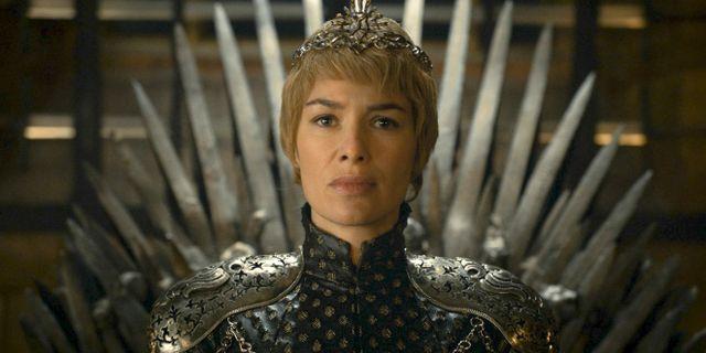 Lena Headey som Cersei Lannister. TT NYHETSBYRÅN