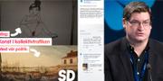 Kampanjen/Per Carlberg Sverigedemokraterna i Stockholms läns landsting på Facebook/TT