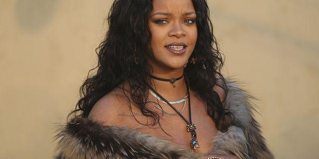 Rihannas klädsel på Dioreventet  TT