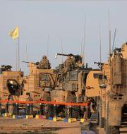 Amerikanska soldater i Syrien, arkivbild. Rodi Said / TT NYHETSBYRÅN