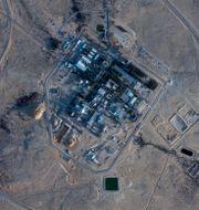 Kärnkraftsreaktorn Dimona nära där luftvärnsroboten uppges ha slagits ned. Arkivbild.  TT NYHETSBYRÅN