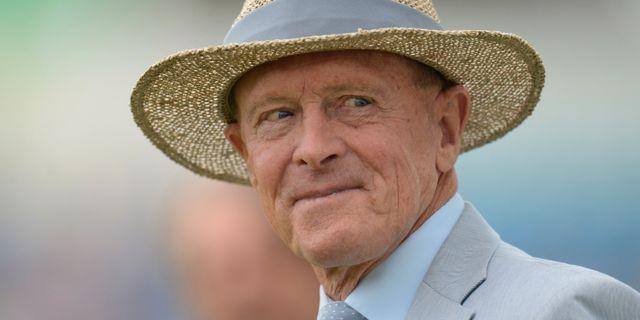 Tidigare cricketspelaren Geoffrey Boycott. Philip Brown / TT NYHETSBYRÅN
