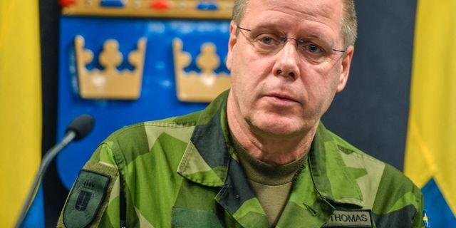 Svensk officer gisslan i ukraina