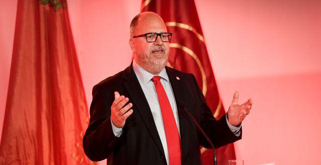Karl-Petter Thorwaldsson. Fredrik Sandberg/TT / TT NYHETSBYRÅN